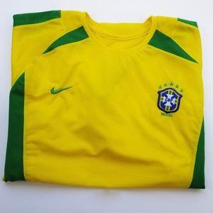 NIKE Brazil / Brasil Soccer Football Jersey